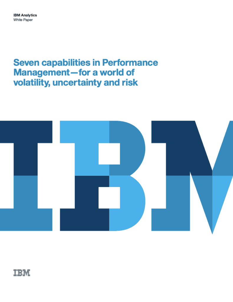 IBM Financial Services Whitepaper